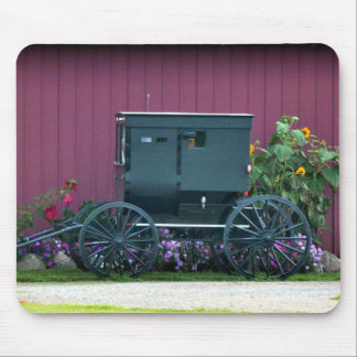 Amish Buggy-Barnyard Mouse Pad