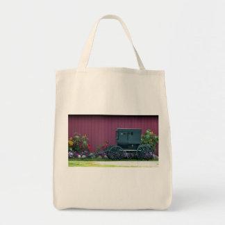 Amish Buggy-Barnyard Tote Bag