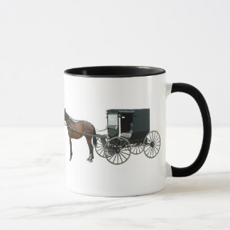 Amish Buggy Cup, Ohio Mug