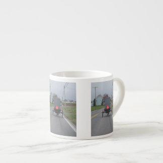 Amish Buggy Espresso Mug