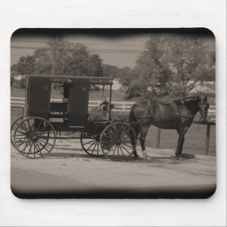 Amish Buggy Mouse Pad