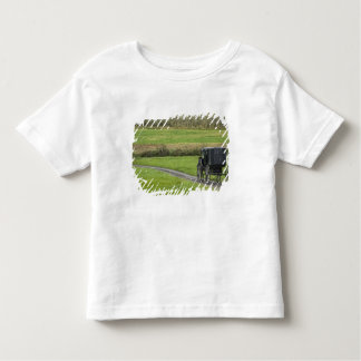 Amish buggy on farm lane, Northeastern Ohio, Toddler T-shirt