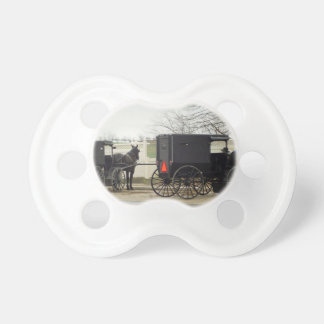 "Amish Buggy ""Parking Lot"" Pacifier"