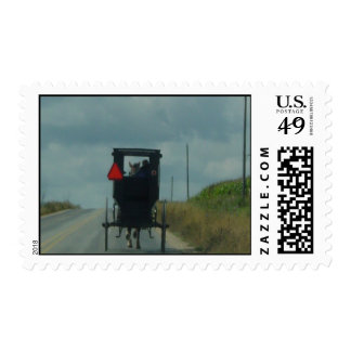 Amish Buggy Stamp