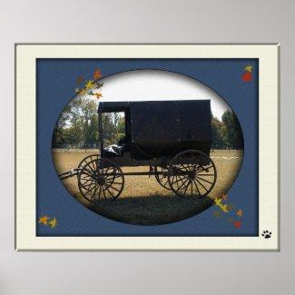 Amish Buggy print