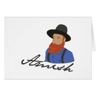 Amish Card