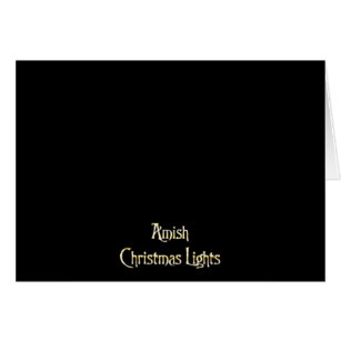 Amish christmas lights joke