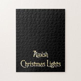 Amish Christmas Lights Jigsaw Puzzle