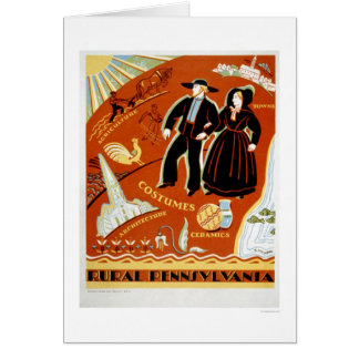 Amish Costume Tradition 1938 WPA Greeting Cards