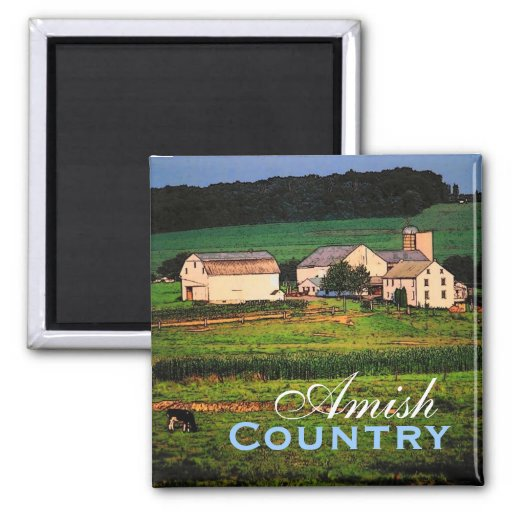 Amish Country Farm Magnet Zazzle