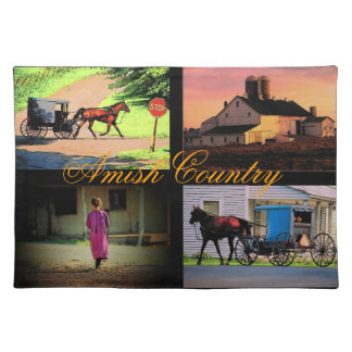 Amish Country Placemat Cloth Place Mat