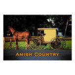 Amish Country Poster