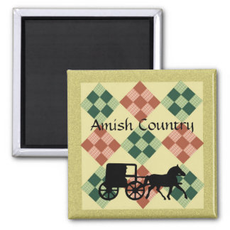 Amish Country Refrigerator Magnet