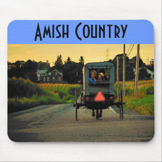 Amish Country (Road) Mousepad