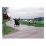 Amish Country Road Postcard