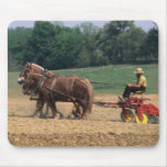Amish Country simple people in farming with Mousepads