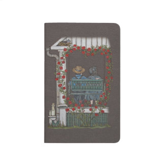 Amish Couple On Porch Swing Journal