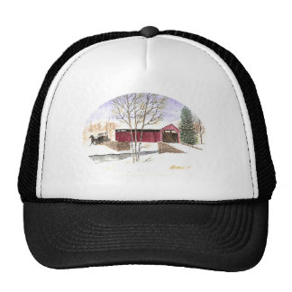 Amish Covered Bridge Trucker Hat