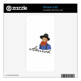 Amish Decal For The iPhone 4S