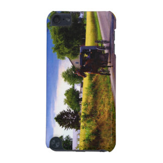 Amish Family Racing the Storm (simulated oil on ca iPod Touch (5th Generation) Cases