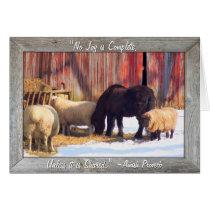 Amish Farm Christmas Cards