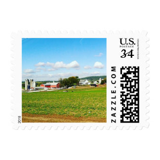 Amish Farm Postage Stamps