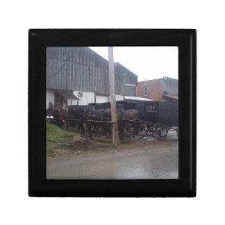 Amish gift box