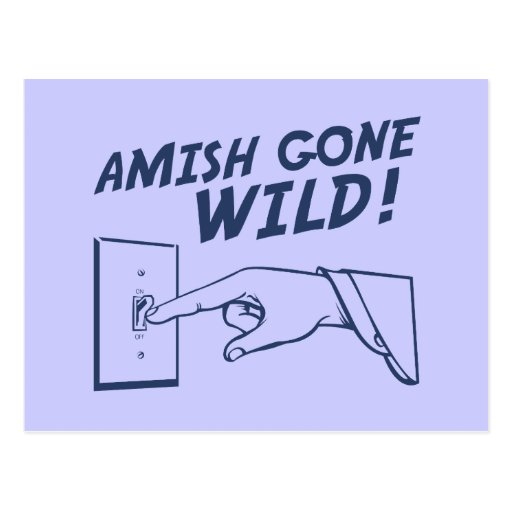 Amish Gone Wild! Post Cards