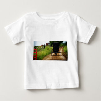 Amish Horse And Buggy Baby T-Shirt