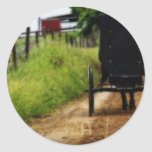 Amish Horse And Buggy Stickers