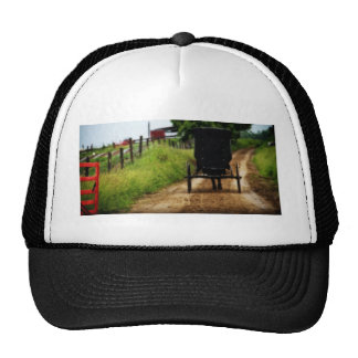 Amish Horse And Buggy Trucker Hat