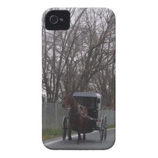 Amish Horse & Buggy Blackberry Case