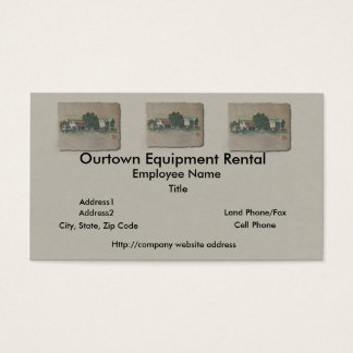 Amish House & Barn Business Card