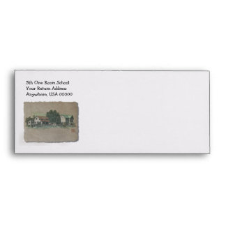 Amish House & Barn Envelope