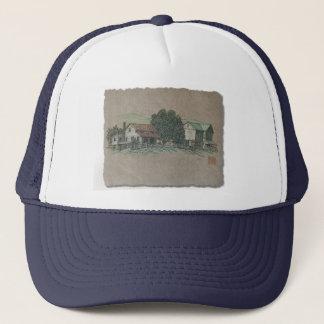 Amish House & Barn Trucker Hat