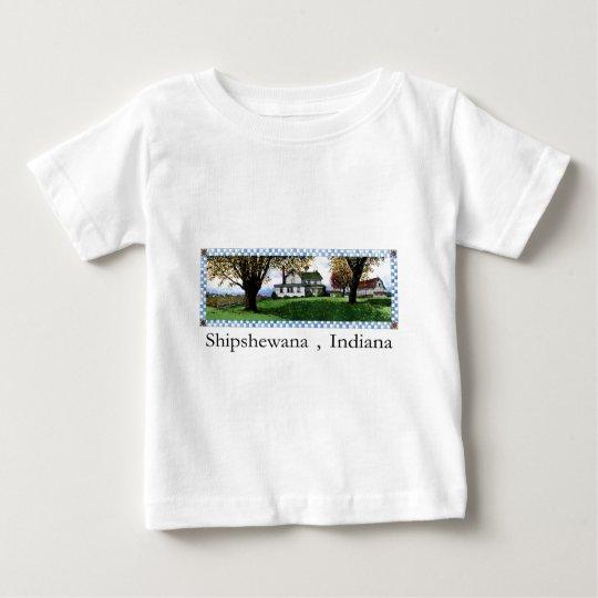 Amish House Shipshewana Indiana Baby T-Shirt