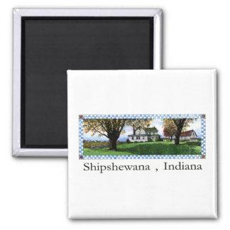 Amish House Shipshewana Indiana Magnet