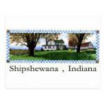 Amish House Shipshewana Indiana Postcard