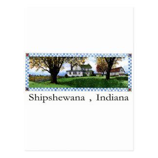 Amish House Shipshewana Indiana Postcard