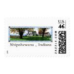 Amish House Shipshewana Indiana Stamps