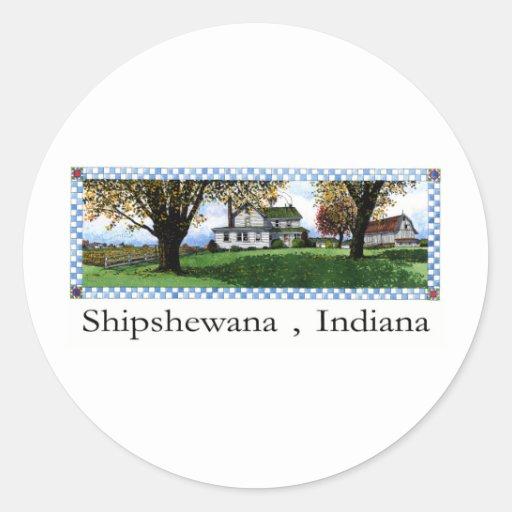 Amish House Shipshewana Indiana Sticker