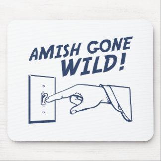 ¡Amish idos salvajes! Alfombrillas De Ratón