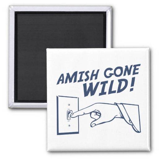 ¡Amish idos salvajes! Imán Para Frigorífico
