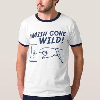 ¡Amish idos salvajes! Poleras