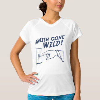 ¡Amish idos salvajes! Remeras
