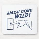 ¡Amish idos salvajes! Tapetes De Ratón