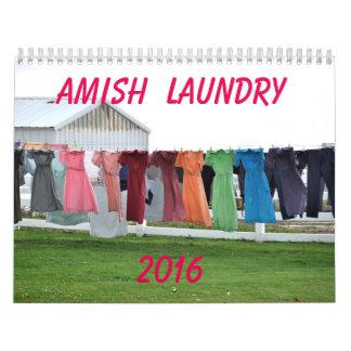AMISH LAUNDRY  2016 CALENDAR