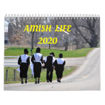 AMISH  LIFE  2020 CALENDAR