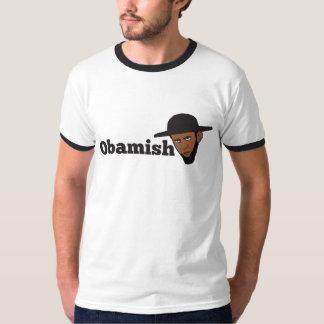Amish Obama Playera
