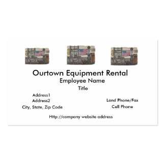 Amish One Room School Room Business Card Template
